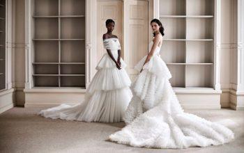 Модное свадебное платье в сезоне весна 2021