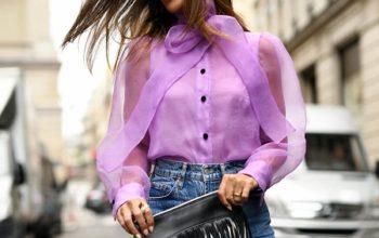 Наиболее популярные и модные модели женских блузок