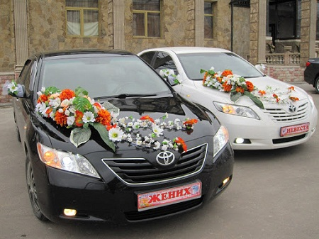 Рекомендации по выбору свадебного автомобиля для молодоженов